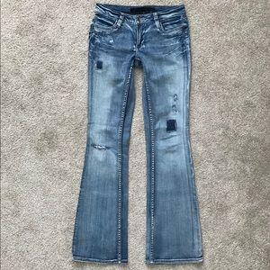 Charlotte Russe Refuge Jeans, Size 5